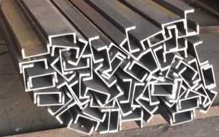 Швеллер: размеры изделий или как выбрать подходящий профиль