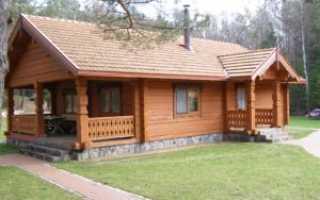 Деревянный фундамент: свайный, столбчатый, ленточный, плитный