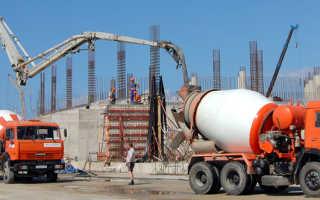 Удельный вес бетона м200: масса бетона в 1 м3