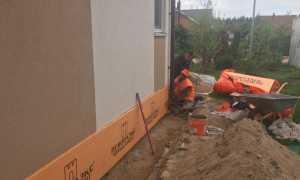 Утепление отмостки экструдированным пенополистиролом, крыши, пеноблока, стен, бетонного пола