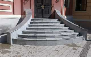 Опалубка для крыльца из бетона: материалы, установка, как сделать