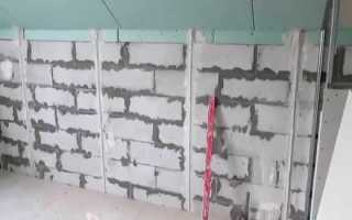 Шпаклевка для газобетона: внутренняя, наружная, фасадная
