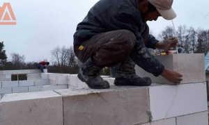 Кладочная сетка для газобетонных блоков: усиление газоблоков