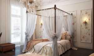 Кровать с балдахином: роскошный и притягательный элемент интерьера спальни