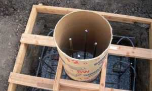 Опалубка для свайного фундамента: виды, материалы, монтаж