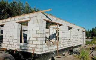 Стены из пеноблоков: наружные, несущие, в квартире и доме