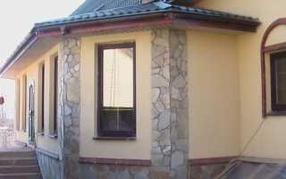 Наружная отделка дома из арболита: выбор материала для облицовки