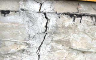 Ремонт фундамента кирпичного частного дома: причины, виды ремонтов