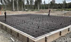 Армирование фундаментной плиты: схемы, расчет, как армировать