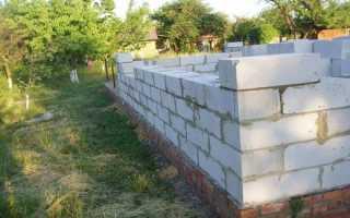 Стены из газосиликатных блоков: наружные, внутренние, несущие