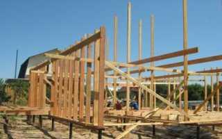 Свайный фундамент для каркасного дома: этапы строительства своими руками