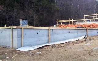 Ступенчатый фундамент: нюансы строительства на склоне