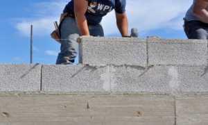 Кладка керамзитобетонных блоков: технология, инструкция, укладка своими руками