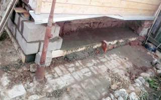 Как подлить фундамент к старому фундаменту: под стоящий существующий дом