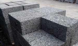 Сколько блоков арболита в 1 м3