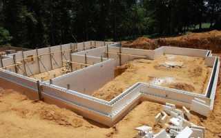 Подошва фундамента: устройство, расчет, бетонирование
