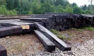 Фундамент из шпал: для бани, гаража, сарая, под теплицу