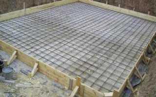 Фундаментная плита под гараж: своими руками, пошаговая инструкция
