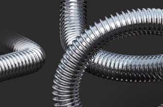 Гофрированная труба из нержавеющей стали: универсальность и практичность