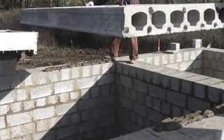 Укладка плит перекрытия на керамзитобетонные блоки: можно ли, как класть