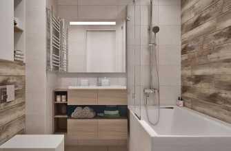 Стеновые панели для ванной: доступный способ оформления интересного интерьера