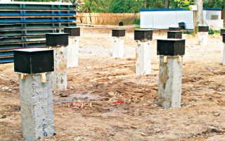 Свайный фундамент: на винтовых, железобетонных, буронабивных сваях