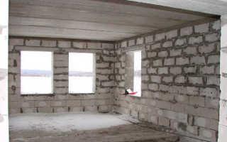 Штукатурка газоблока внутри помещения: технологические особенности процесса