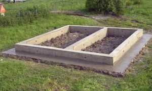 Создание ленточного фундамента для бани своими руками. Советы профессионалов
