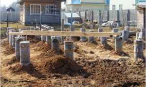 Фундамент из труб: стальных, металлических, для дома
