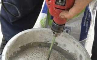 Производство пескобетона: пропорции, технология изготовления своими руками