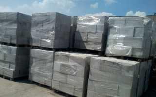 Сколько полистиролбетонных блоков в 1м3