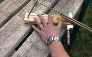 Станки для заточки ножей: удобный способ держать рабочий инструмент в порядке