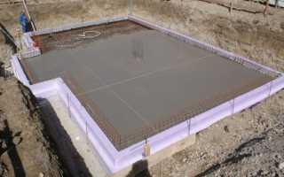 Подбетонка под фундамент: ленточный, плитный, из фбс