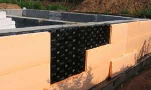 Как утеплить фундамент деревянного дома: ленточный, плитный, свайный, столбчатый