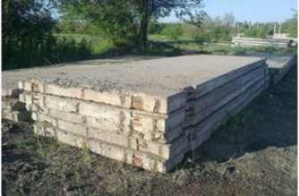 Дорожные плиты под фундамент: для дома, гаража, монтаж плит