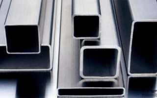 Профильная труба: размеры, условия производства и калькуляция стоимости