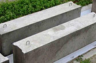 Размер бетонного блока: длина, ширина, высота