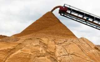 Какой песок нужен для фундамента: морской, речной, карьерный, озерный