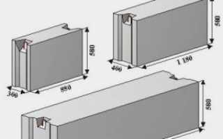 Монтаж фундаментных блоков (фбс): укладка, установка