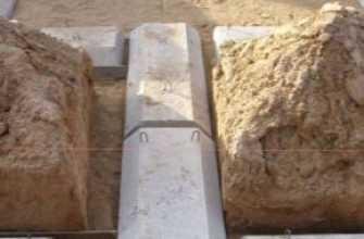 Фундаментные подушки: описание, характеристики, размеры, монтаж