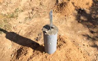 Столбчатый фундамент из пластиковых труб своими руками: технология строительства