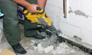 Демонтаж стены из пеноблоков: этапы работы