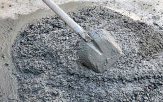 Состав бетона м300 на 1м3: материалы, пропорции