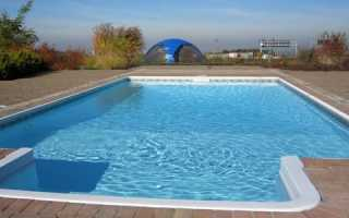Опалубка для бассейна: монтаж своими руками