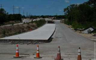 Строительство бетонных дорог: технология, конструкция, выполнение работ