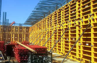Опалубка стен: деревянная, из фанеры, стальная, алюминиевая, пластиковая
