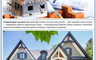 Фронтон крыши: визитная карточка каждого дома