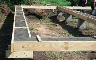 Столбчато-ленточный фундамент: пошаговая инструкция выполнения работ своими руками