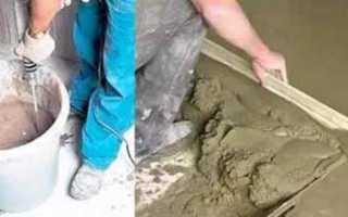 Чем отличается пескобетон от цементно песчаной смеси