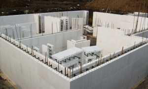 Несъемная опалубка для стен: строительство дома, плюсы и минусы